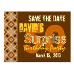 Modern Save the Date Surprise 50th Party W1947