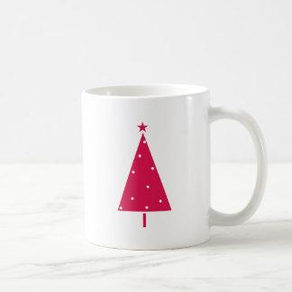 Modern Scandinavian Christmas Tree Mugs