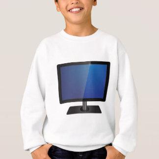 modern screen sweatshirt