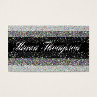Modern Shades of Gray Business Card