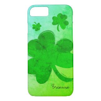 Modern Shamrock Personalized iPhone 8/7 Case