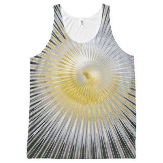 Modern Shell Bubbleblue Designs All-Over Print Tank Top