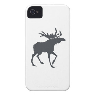 Modern, Simple & Beautiful Hand Drawn Antler iPhone 4 Case-Mate Cases