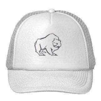 Modern, Simple & Beautiful Hand Drawn Bear Cap