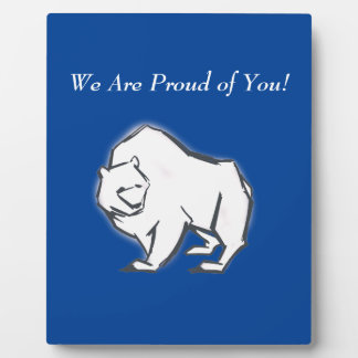 Modern, Simple & Beautiful Hand Drawn Bear Plaque