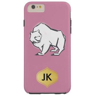 Modern, Simple & Beautiful Hand Drawn Bear Tough iPhone 6 Plus Case