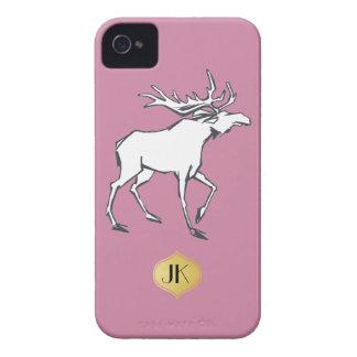 Modern, Simple & Beautiful Hand Drawn Deer iPhone 4 Case