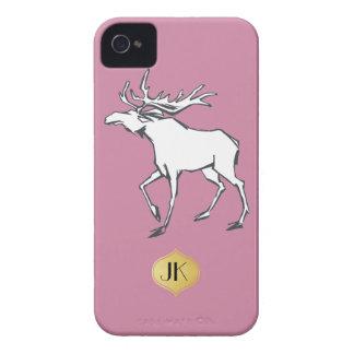 Modern, Simple & Beautiful Hand Drawn Deer iPhone 4 Cases