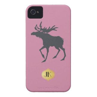 Modern, Simple & Beautiful Hand Drawn Deer iPhone 4 Covers
