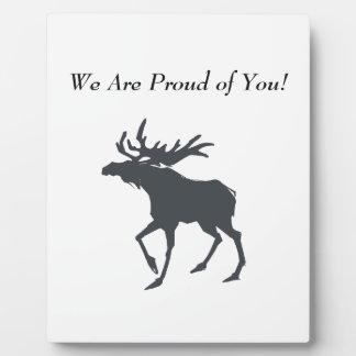 Modern, Simple & Beautiful Hand Drawn Deer Plaque