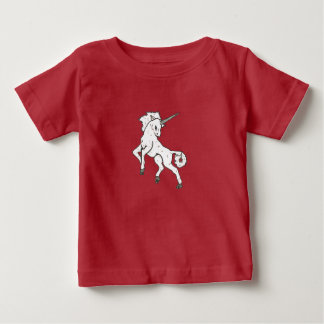 Modern, Simple & Beautiful Hand Drawn Unicorn Baby T-Shirt
