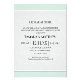 Modern Simple Diamond Velum Flap Look Swirl Scroll 13 Cm X 18 Cm Invitation Card