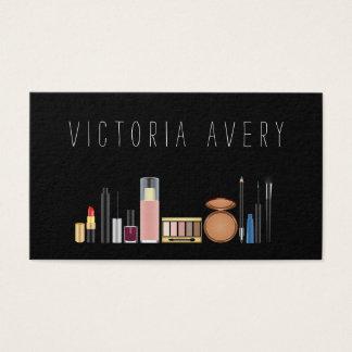 Modern Simple Make Up Artist Business Card