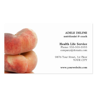 Modern Simple Nutritionist Business Card