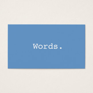 Modern simple writer publisher editor blue-gray