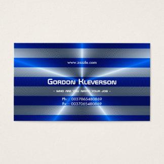 modern sleek and vibrant business card