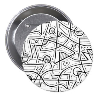 Modern Sleek Beautiful Luxurious 7.5 Cm Round Badge