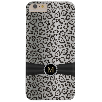 Modern Snow Leopard Print iPhone 6 Plus Case