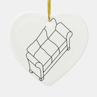 modern sofa ceramic ornament