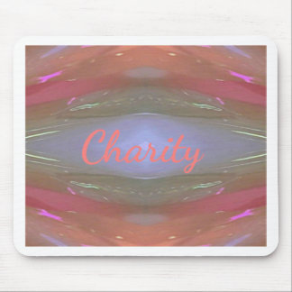 Modern Soft Charity Artistic Pattern Mouse Pad