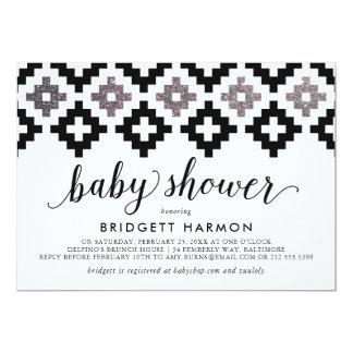 Modern Southwest Blanket Baby Shower Card