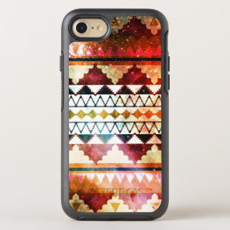 Modern Space Tribal Print Jewel Tones OtterBox Symmetry iPhone 8/7 Case