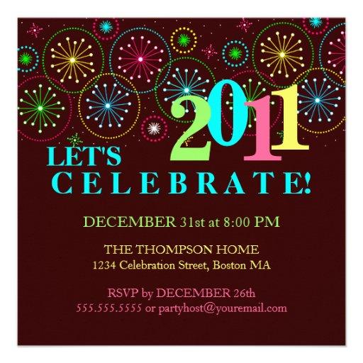Modern Sparkle New Years Eve Party Invitation - Zazzle.com.au