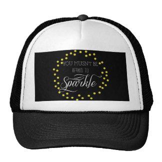 Modern Sparkle Trucker Hat