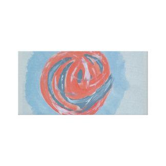 Modern Sphear Art Canvas Print