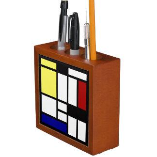 Modern Square Art Desk Organiser