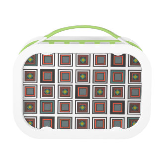 Modern Square Pattern 161 Lunch Box