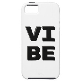 Modern Stacked VIBE Print Case For The iPhone 5