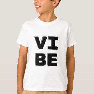 Modern Stacked VIBE Print T-Shirt
