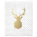 Modern Stag | Holiday Art Print Photograph
