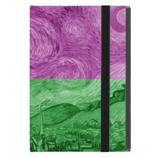 Modern Starry Night Cover For iPad Mini