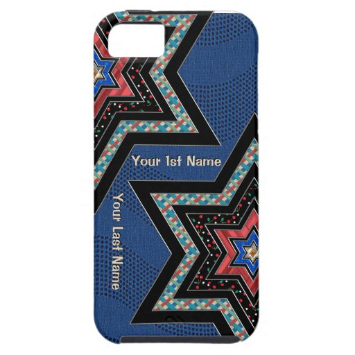 Modern Starz (Personalized) iPhone 5 Cases