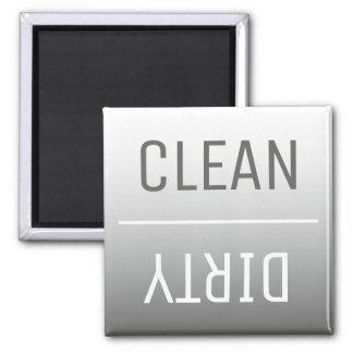 Modern Steel Gray Ombre Dishwasher Magnet