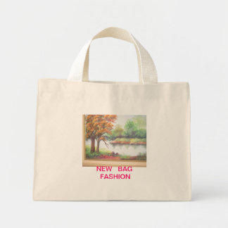 Modern stock market for any occasion mini tote bag
