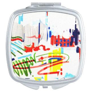 Modern Street Tiles from Lisbon's Funicular Makeup Mirrors