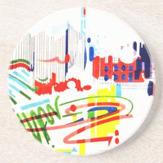 Modern Street Tiles - Lisbon Coaster