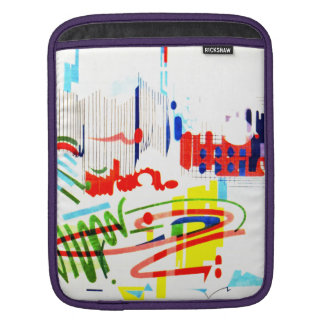 Modern Street Tiles - Lisbon iPad Sleeve