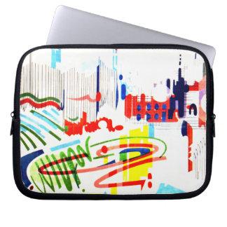 Modern Street Tiles - Lisbon Laptop Sleeve