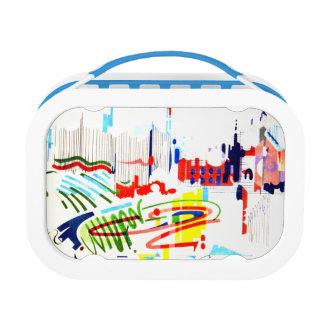 Modern Street Tiles - Lisbon Lunch Box