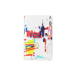Modern Street Tiles - Lisbon Pocket Moleskine Notebook