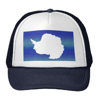Modern Stripped Antartican flag Mesh Hat