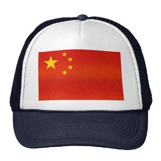 Modern Stripped Chinese flag Trucker Hat