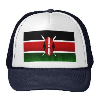 Modern Stripped Kenyan flag Trucker Hat