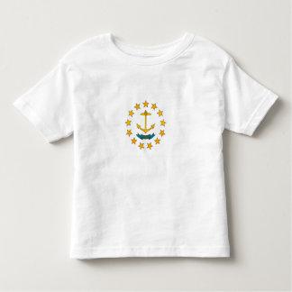 Modern Stripped Rhode Islander flag Toddler T-Shirt