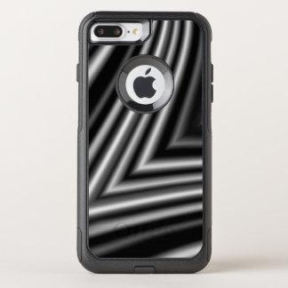 Modern Stylish Black White Pattern Chic OtterBox Commuter iPhone 8 Plus/7 Plus Case