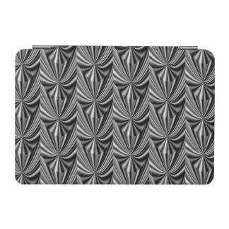 Modern Stylish Black White Silver Pattern iPad Mini Cover